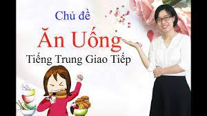 Học tiếng Trung chủ đề về ăn uống