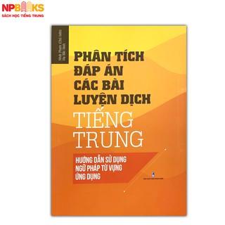 Phân tích bài tập luyện dịch tiếng Trung