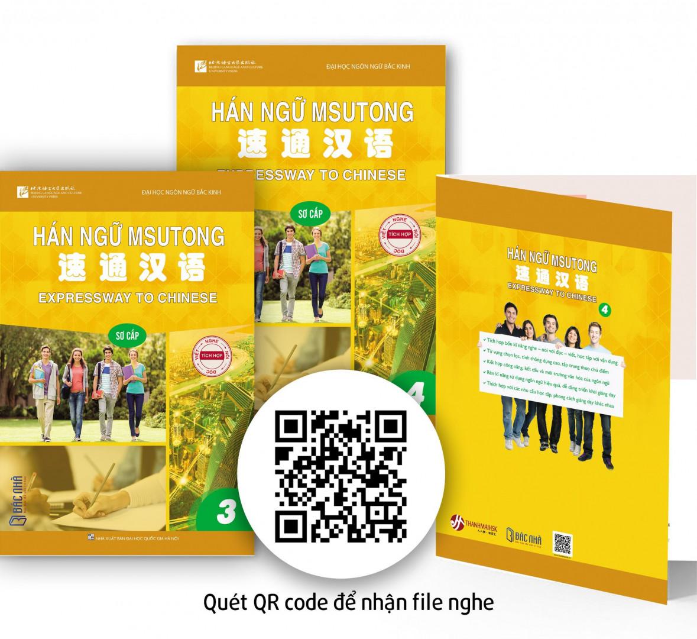 Review Sách học tiếng Trung Hán ngữ MSUTONG có kèm Video