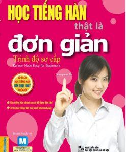 Sách học tiếng Hàn thật là đơn giản - Trình độ Sơ cấp