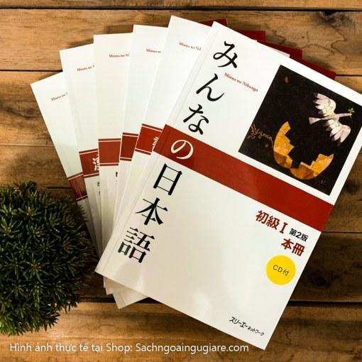 Combo 7 cuốn: Minna no Nihongo Sơ cấp 1 (Bản Mới nhất)