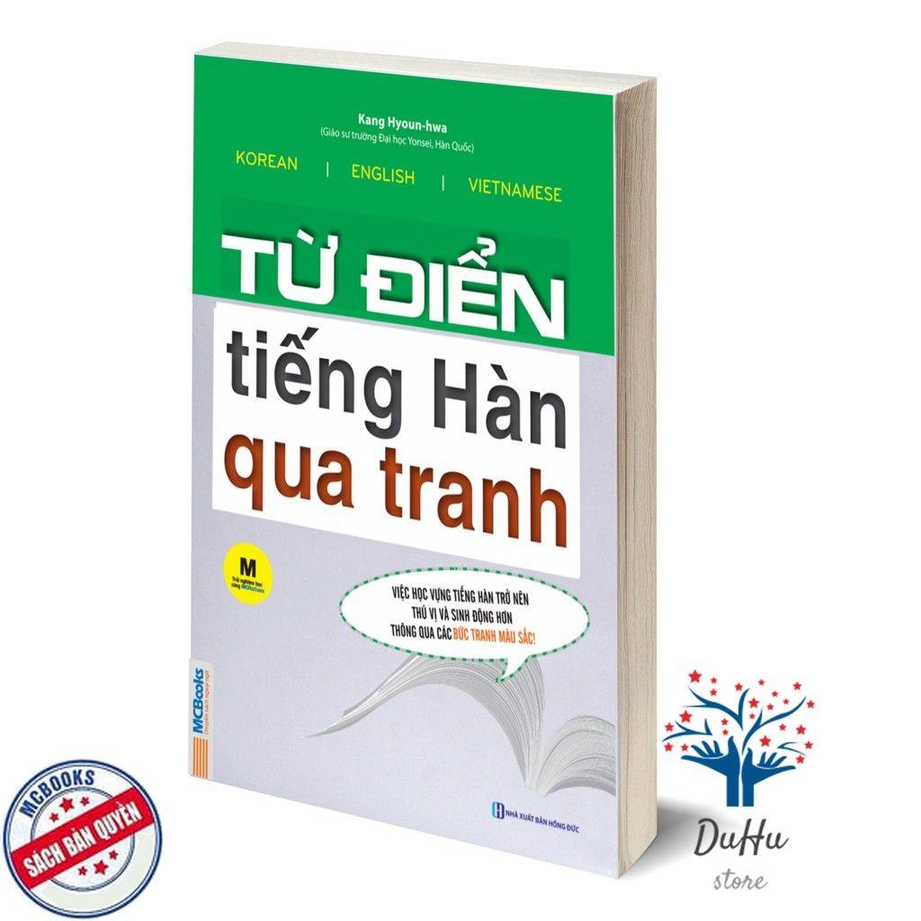 Sách từ điển tiếng Hàn qua tranh