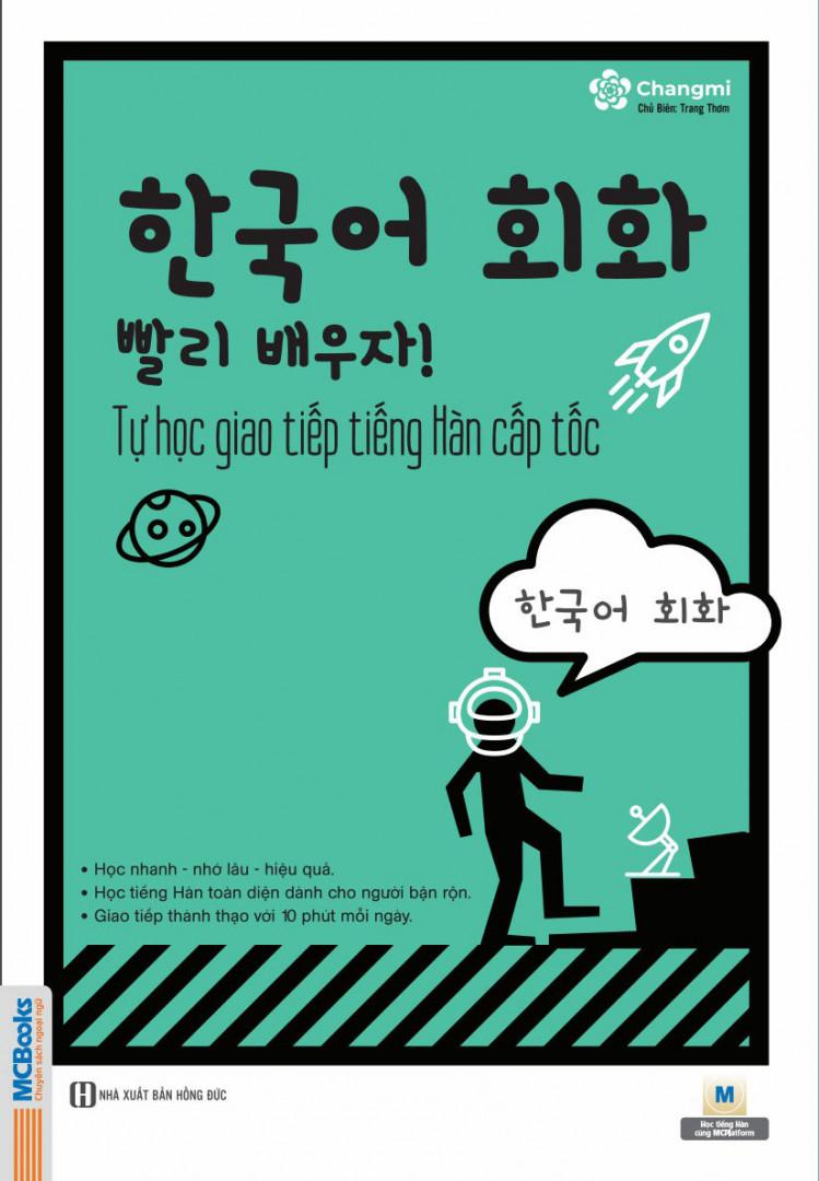 Sách tự học giao tiếp tiếng Hàn cấp tốc