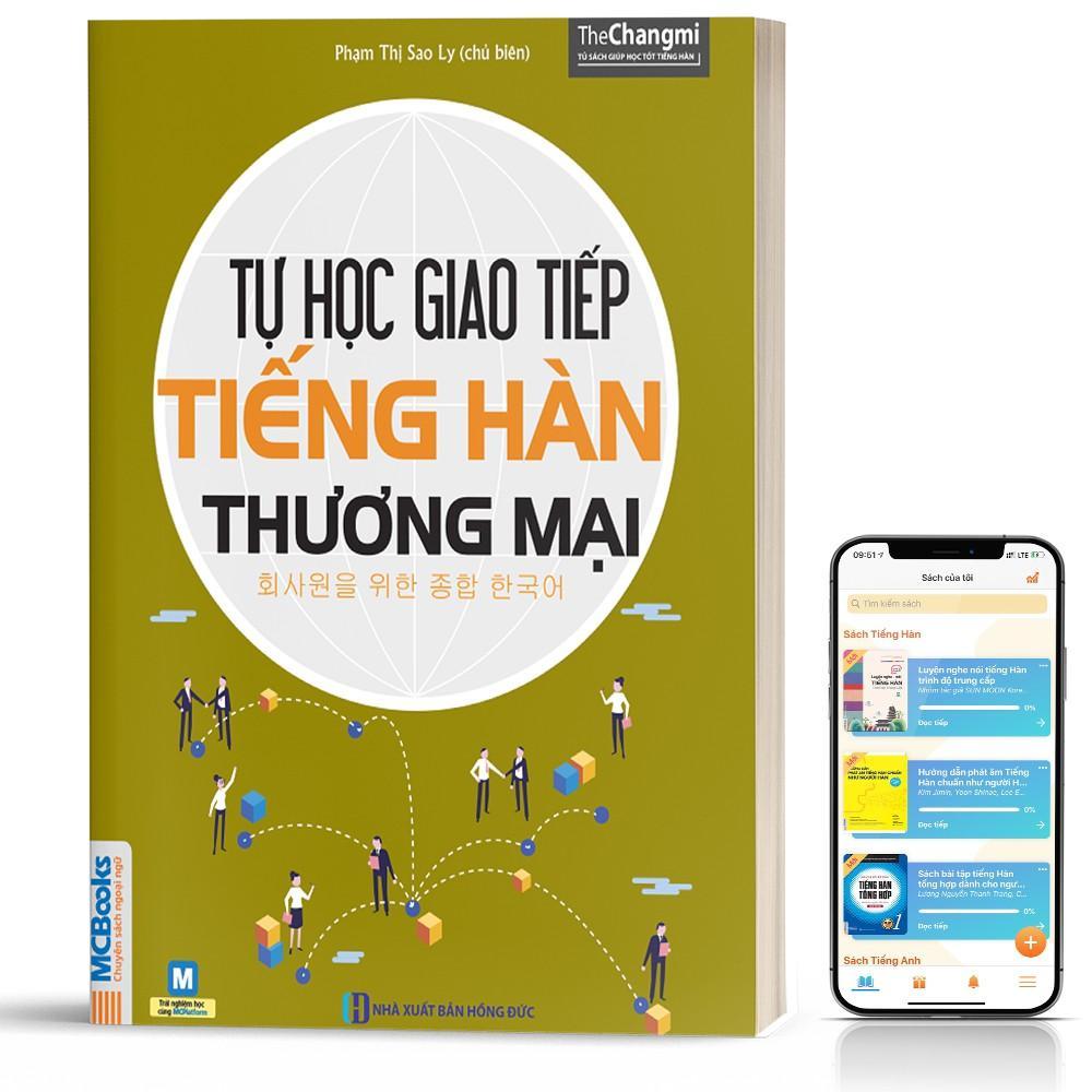 Sách tự học giao tiếp tiếng Hàn thương mại