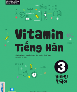 Sách -  Vitamin học tiếng Hàn 3